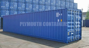 Plymouth 40ft Container Sales