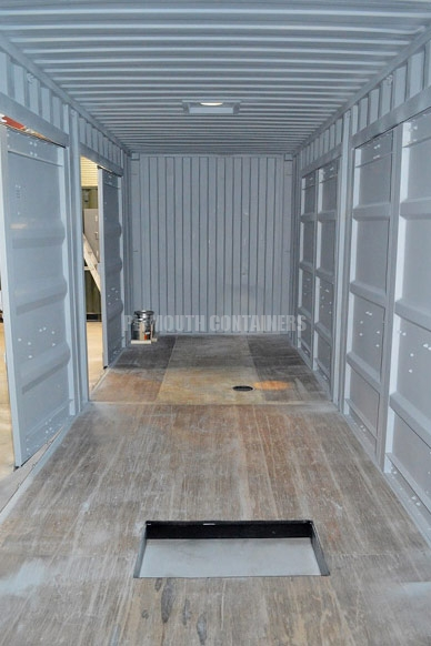 sludge thinning shipping container torquay