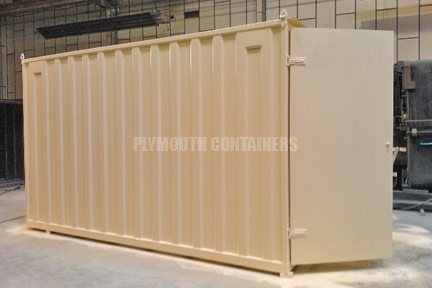 Garden Shed Steel Storage Container, Plymouth