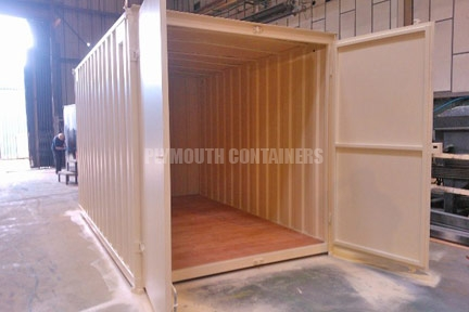 garden shed container plymouth