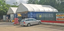 Container Canopies Options Plymouth