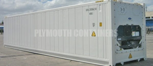 Refrigerated Reefer Container Plymouth
