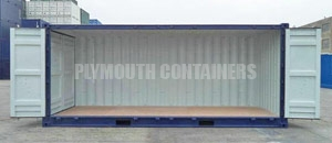 Side Opening Specialised Container Plymouth